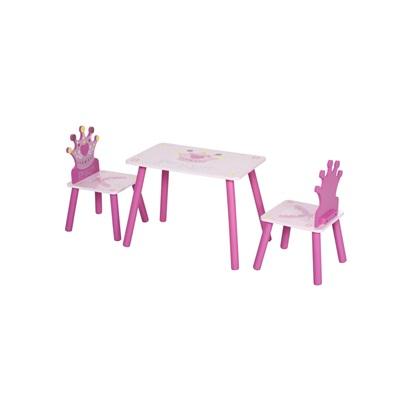 Παιδικό Σετ με Τραπέζι και 2 Καρέκλες HOMCOM (312-015) (HOM312-015)