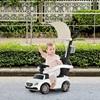 Homcom Push Car BMW με σκίαστρο και λαβή και White Safety Bar (370-114WT) (HOM370-114WT)