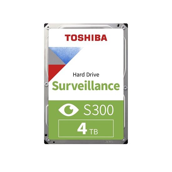Toshiba S300 - Surveillance Hard Drive 3.5'' 4TB (SMR) (HDWT740UZSVA) (TOSHDWT740UZSVA)