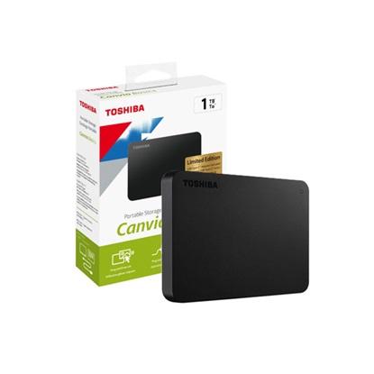 "Toshiba Canvio Basics (2018) 1TB External HDD 2.5"" USB 3.0 (HDTB410EK3AB) (TOSHDTB410EK3AB)"