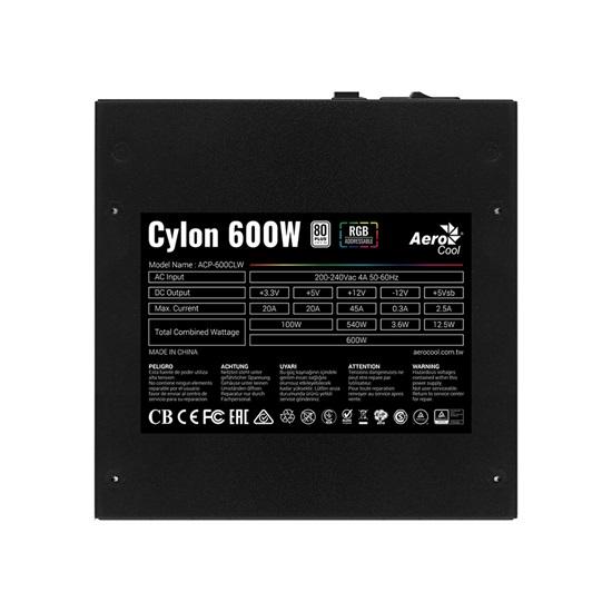 Aerocool Cylon 600W RGB PSU (ACPW-CE60AEC.11)