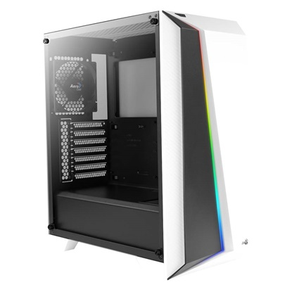 Aerocool Cylon Pro Tempered Glass Midi-Tower White (ACCM-PB10013.21)