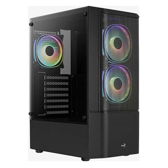Aerocool Quantum Mesh v3 (Includes 12cm RGB Fan x 3) Black case (ACCM-PV31133.11)