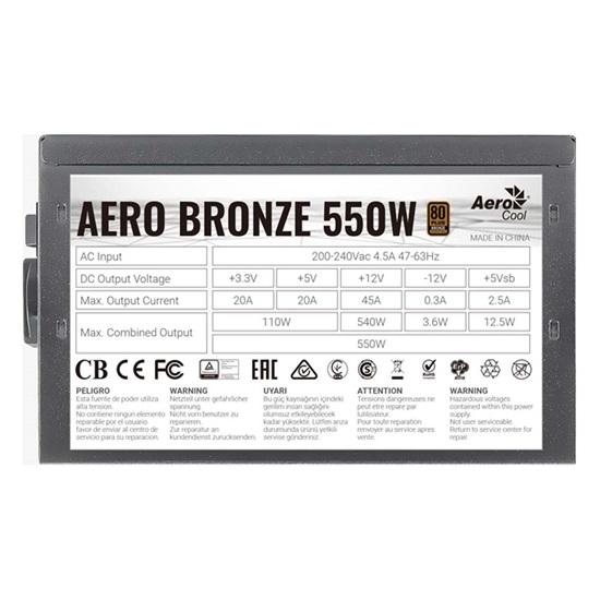 Aerocool Aero Bronze 550W PSU (ACPB-AR55AEC.11)