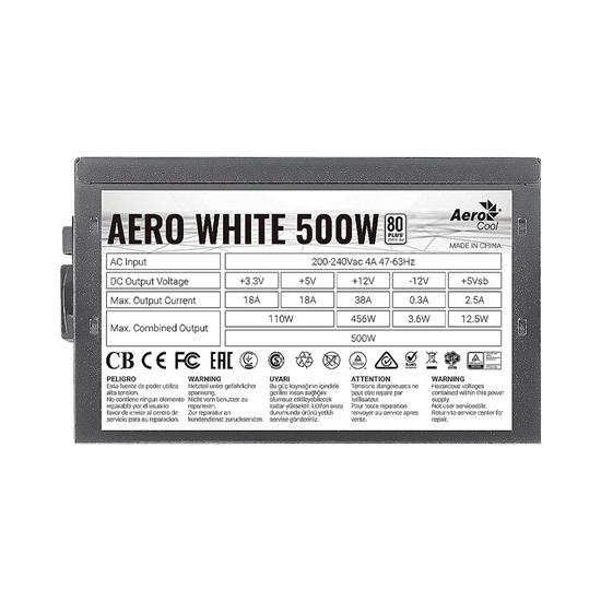 Aerocool Aero White 500W PSU (ACPW-AR50AEC.11)