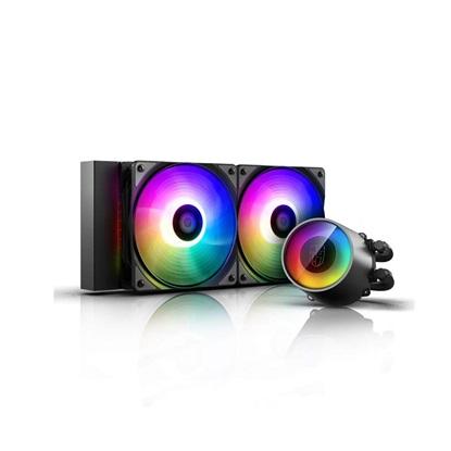DeepCool Castle 240RGB V2 Cpu Liquid Cooler (DP-GS-H12AR-CSL240V2) (DEEDP-GS-H12AR-CSL240V2)