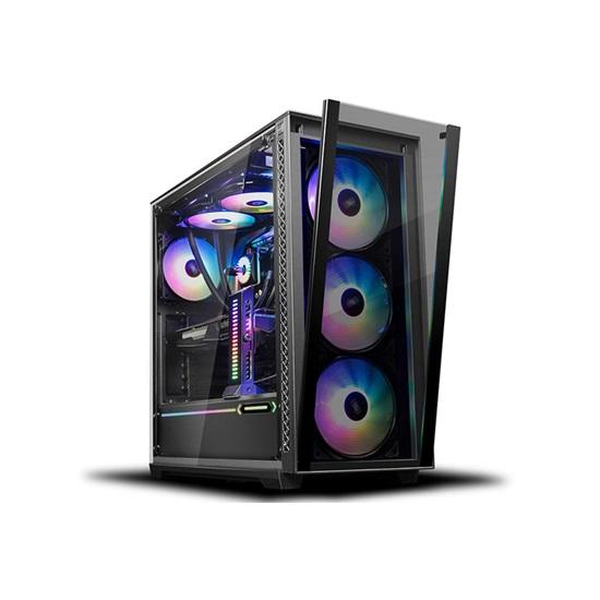 DeepCool Matrexx 70 ADD-RGB 3F Mid Tower Case (DP-ATX-MATREXX70-BKG0P-3F) (DEEDP-ATX-MATREXX70-BKG0P-3F)