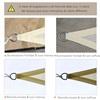Τριγωνική Τέντα σκίασης 5x5x5m Ανοιχτό Μπεζ  (01-0623) (OUT01-0623)