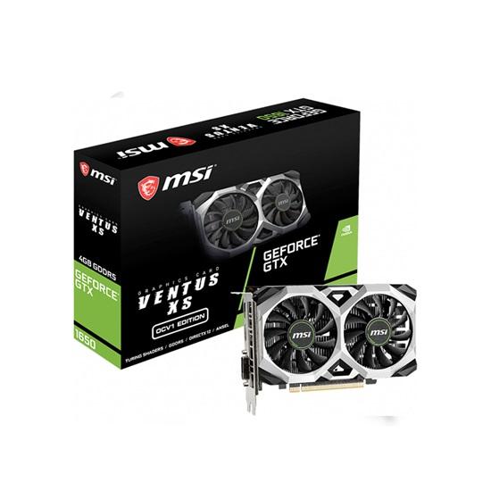 VGA MSI GeForce GTX 1650 4GB Ventus XS OCV1 (V809-3461R) (MSIV809-3461R)