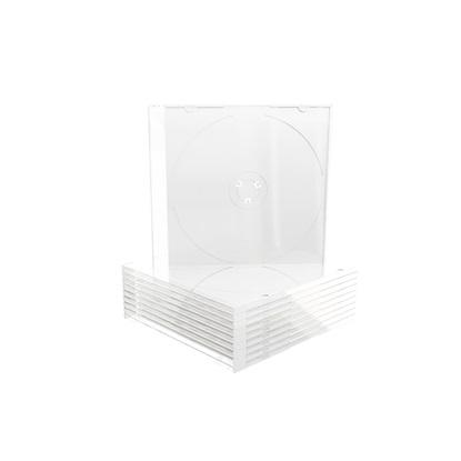 MediaRange CD Slimcase for 1 disc, 5.2mm, white tray (MRBOX19)