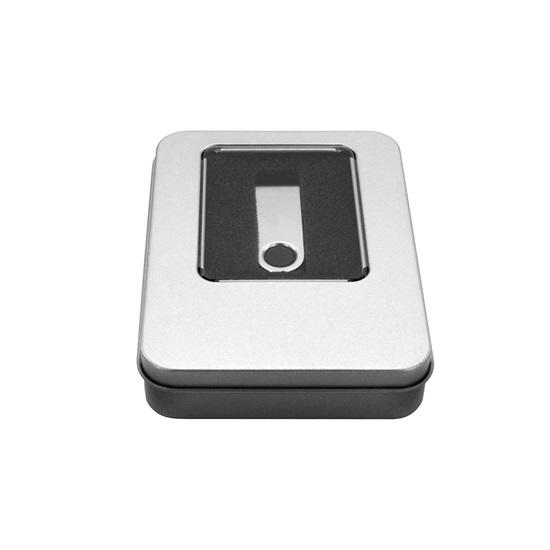MediaRange Aluminum storage box, for USB flash drives, silver (MRBOX902)