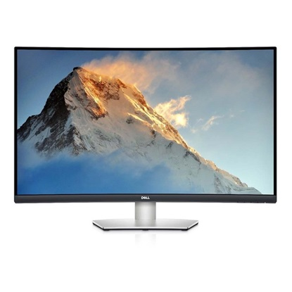 DELL S3221QS Curved 4K UHD Ergonomic Monitor 32'' AMD FreeSync (210-AXLH) (DELS3221QS)