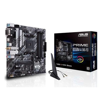 ASUS PRIME B550M-A (WI-FI) Motherboard micro ATX AM4 (90MB14D0-M0EAY0) (ASU90MB14D0-M0EAY0)
