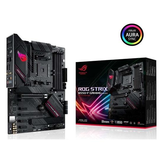 ASUS ROG STRIX B550-F GAMING (WI-FI) Motherboard ATX AM4 (90MB14F0-M0EAY0) (ASU90MB14F0-M0EAY0)