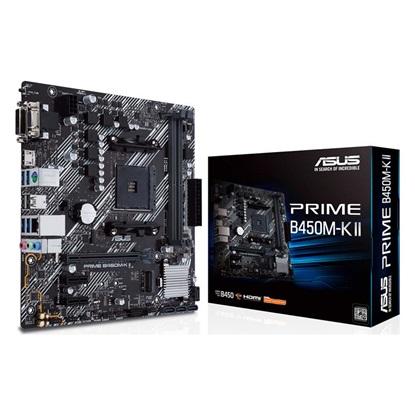 ASUS PRIME B450M-K II Motherboard micro ATX AM4 (90MB1600-M0EAY0) (ASU90MB1600-M0EAY0)