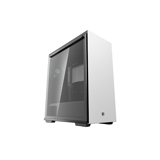 DeepCool MACUBE 310 White Mid Tower Case (GS-ATX-MACUBE310-WHG0P) (DEEGS-ATX-MACUBE310-WHG0P)