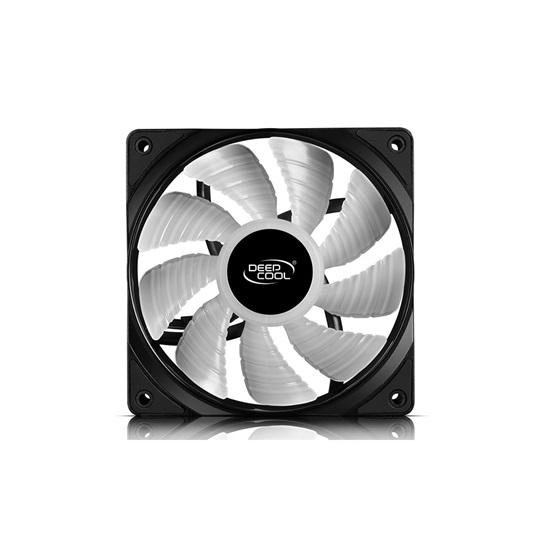 DeepCool RF120M RGB Pc Case Fan (DP-FRGB-RF120-5C-M) (DEEDP-FRGB-RF120-5C-M)