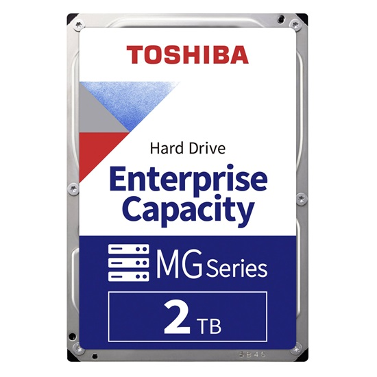 Toshiba MG04ACA Series Enterprise HDD 3.5'' 2TB 512e Standard (MG04ACA200E) (TOSMG04ACA200E)