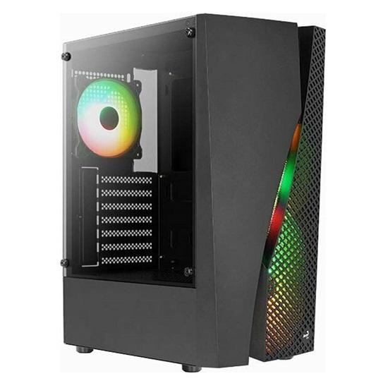 Aerocool Wave v3 (12cm RGB fans x 4 included) Mid Tower Case (ACCM-PV35143.11)