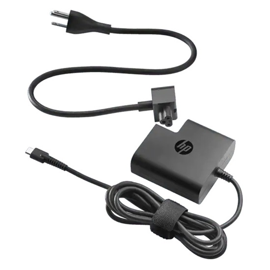 HP 65W USB-C Travel Power Adapter (X7W50AA) (HPX7W50AA)