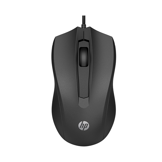 HP 100 Wired Mouse (6VY96AA) (HP6VY96AA)