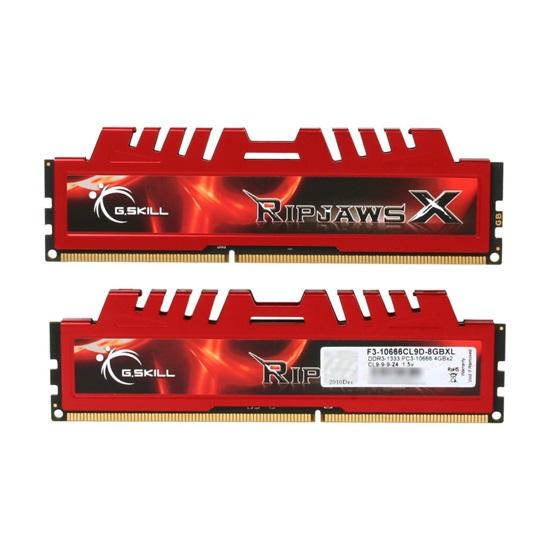 G.Skill RipjawsX DDR3-1333MHz 8GB (2x4GB) (F3-10666CL9D-8GBXL) (GSKF3-10666CL9D-8GBXL)