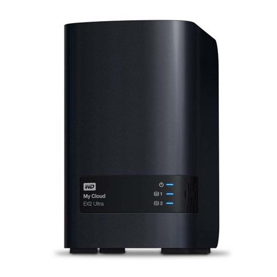 Western Digital My Cloud EX2 Ultra 16TB External (Black) (WDBVBZ0160JCH-EESN)
