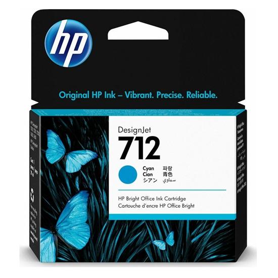HP Μελάνι Inkjet No.712 Cyan (3ED67A) (HP3ED67A)