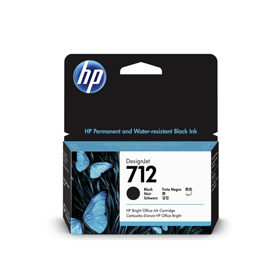 HP Μελάνι Inkjet No.712 Black (3ED70A) (HP3ED70A)