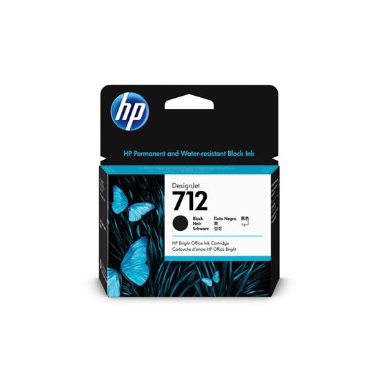 HP Μελάνι Inkjet No.712XL Black (3ED71A) (HP3ED71A)