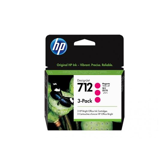HP Μελάνι Inkjet No.712 Magenta 3-Pack (3ED78A) (HP3ED78A)