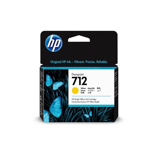 HP Μελάνι Inkjet No.712 Yellow (3ED69A) (HP3ED69A)