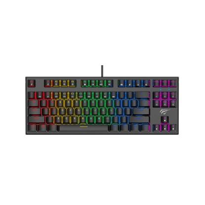 Havit KB857L Mechanical Tenkeyless Gaming Keyboard - Black (KB857L) (HAVKB857L)