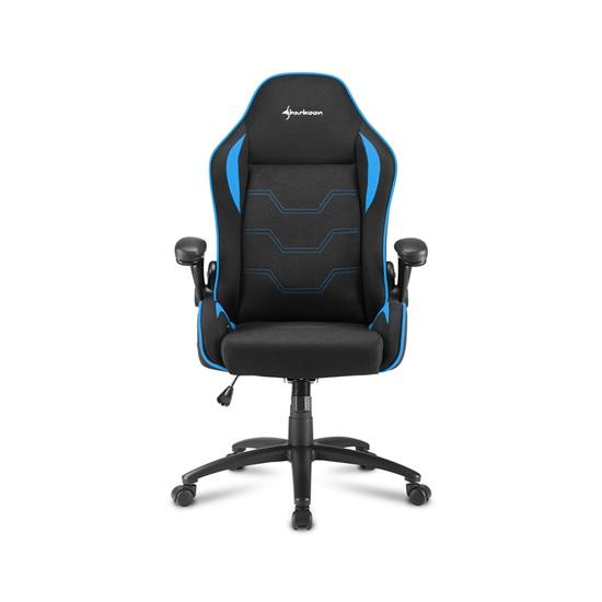 Sharkoon Elbrus 1 gaming chair Black/Blue (ELBRUS1BL) (SHRELBRUS1BL)