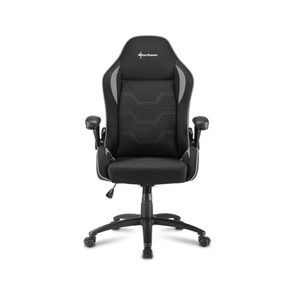 Sharkoon Elbrus 1 gaming chair Black/Grey (ELBRUS1GY) (SHRELBRUS1GY)