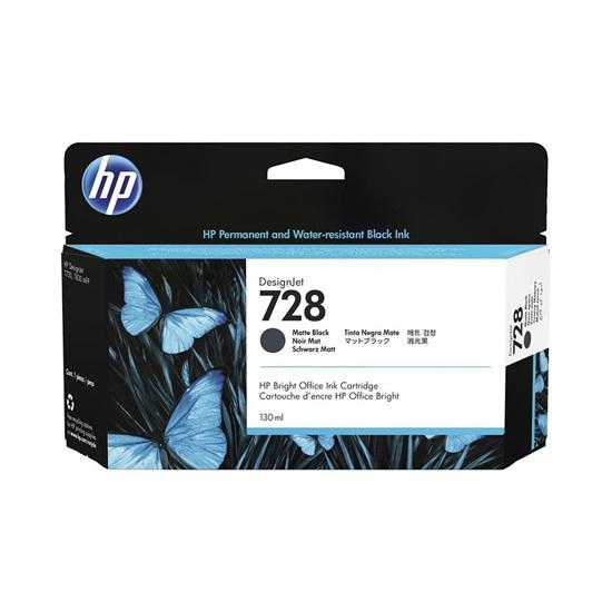 HP Μελάνι Inkjet No.728 Matte Black (3WX25A) (HP3WX25A)