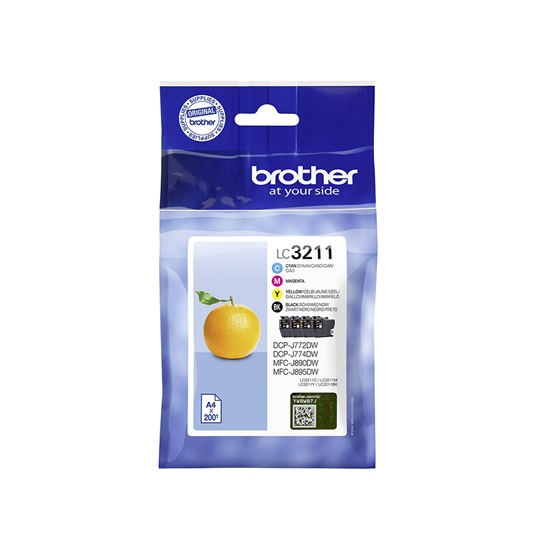 Brother Μελάνι Inkjet LC-3211VP Multipack (LC-3211VP) (BRO-LC-3211VP)