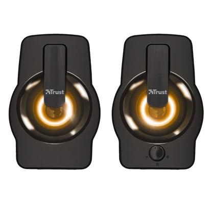 Speaker TRUST Gemi RGB P.M.P.O. 12 Watts 1xAudio-In Black (22948) (TRS22948)