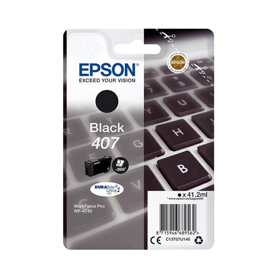 Epson 407 Black (C13T07U140) (EPST07U140)