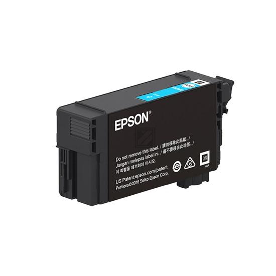 Epson Ink Singlepack UltraChrome XD2 Cyan (C13T40D240) (EPST40D240)-EPST40D240