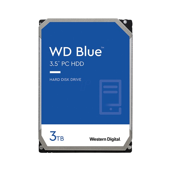 "Western Digital Εσωτερικός Σκληρός Δίσκος 3TB (Blue 3.5"") (CMR) (WD30EZAZ)-WD30EZAZ"