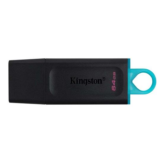 Kingston DataTraveler Exodia 64GB USB 3.2 Gen 1 (DTX/64GB) (KINDTX/64GB)-KINDTX/64GB