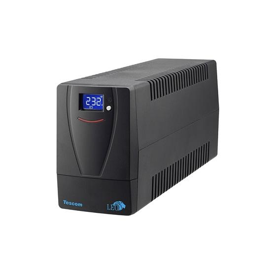 Tescom Leo Plus LCD 850VA UPS Line Interactive (UPS.0786) (TSLCD850AP)-TSLCD850AP