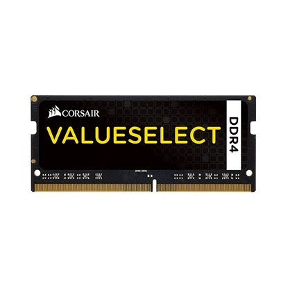 Corsair Memory 4GB (1x4GB) DDR4 SODIMM 2133MHz C15 Memory Kit (CMSO4GX4M1A2133C15) (CORCMSO4GX4M1A2133C15)-CORCMSO4GX4M1A2133C15